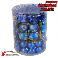 Wholesale Christmas balls Christmas Ball Plated Ball Christmas Tree Ornaments box
