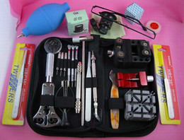 Watch Repair Tool Kit Zip Case Battery Bracelet Set Kit Tools watches repairing tool set