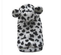 Wholesale New Warm Milk Cow Style Dog Clothes Apparel Size XS S M L xl