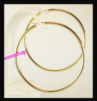 large hoop earrings - Promotion Price Large Hoop Earrings Basketball Wives Earrings Round Earrings PAIRS