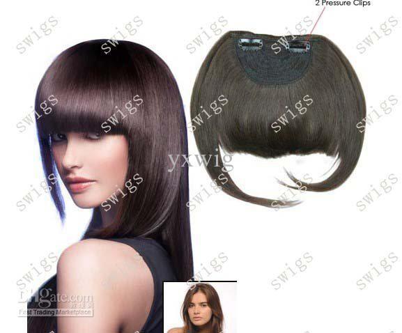 Clip-on Bangs Blonde Bang Wig Clip on Bang