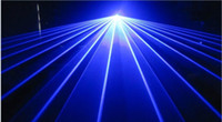 Wholesale 500mW nm nm Blue Beam Show Sound Active DJ Party Disco Club Bar Stage Laser Lighting