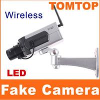 Wholesale Wireless Fake Dummy Surveillance IR LED Security Camera with Motion Detection sensor S88