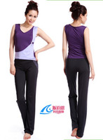 Wholesale Women Yoga Gym Clothes Brand Fashion Sleeveless sport amp Fitness yoga Suit