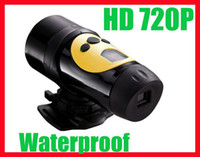 Wholesale HD P Waterproof Sport Helmet Action Camera Cam DVR DV AT18A fps Black