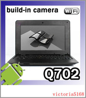 Wholesale Ultra min inch M GBOS WIFI camera Laptop Mini Andriod or window Netbook
