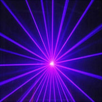 Wholesale 100mW nm Blue Purple Violet Sound Active DJ Stage Party Disco Club Bar Laser Lighting