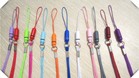 Wholesale Colorful Mobile Cell Phone Strap Lanyard For Phone Mp3 MP4 Player Camera USB Pen Drive cm