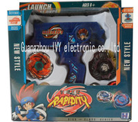 Wholesale Beyblade launchers spin top launchers ruler puller launchers carton