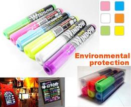 """CKS WINDOW MARKER"" Fruity Color Oblique Head Highlighter Pen   Marker Pen 6-color"