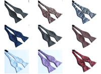 Wholesale Self Tie Bowtie Men s Ties men s bowties men bow ties many designs mxied