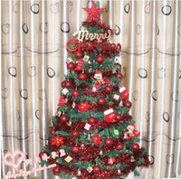 Wholesale Christmas meal with cm m encryption Christmas tree Christmas ornaments