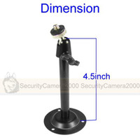 Wholesale Black Mini Metal Mount CCTV Bracket for CCTV Camera