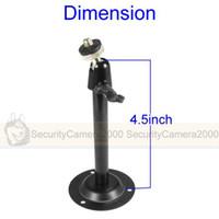 Wholesale Black Mini Metal Mount CCTV Bracket for CCTV Camera
