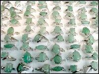 Women's best aventurine - Best Selling Jewelry Ring Mixed Green Aventurine stone Rings Lady s Gemstone Ring GM168