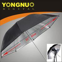 Wholesale free ship quot cm Studio Black and Silver Reflector Umbrella