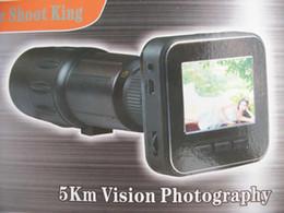 Wholesale 2011 New far shoot King digital telescope camera MP long distance vision Photography Camera