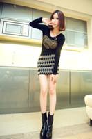 Wholesale The four seasons of the new female winter new skirt Europe joker diamond short skirt show thin