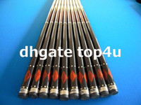 Wholesale 2pcs grip Irish linen cue grade A Canadian Hard Maple Pool Cue oz