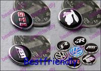Wholesale 3D GTI VW Key Remote Control MM Volume Keys Audio Car Logo Auto Decals Emblem Badges Badge Sticker