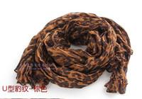 Wholesale 2012 Fashion Leopard Scarf Scarves long scarf scarf Bali yarn scarf shawl Dual use wivnvj