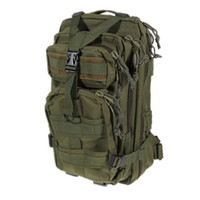 Wholesale 800D Nylon Military Travelling Waterproof Backpack Bag with Detachable Waist Strap Green