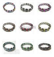 Wholesale 10pcs Black Magnetic Healthy Bracelets inch For DIY Craft Fashion Jewelry Gift MG1