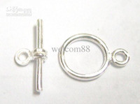 Wholesale 10pcs Sterling Silver Clasp Hook For DIY Craft Fashion Jewelry Gift W45