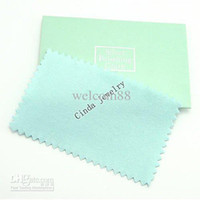 Wholesale 10pcs Silver Jewelry Cleaning Polishing Cloth For DIY Craft Fashion Jewelry Gift x10cm CL2