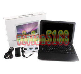 Wholesale Airbook Air quot Laptop Notebook Computer GHz CPU GB DDR2 GB with DVD RO Christmas gift
