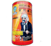 Wholesale The latest fire and smoke mask fire escape mask filter respirator respirators bottled Enhanced