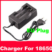Wholesale Free ship Lithium Battery Wired AC Digital Li Ion Travel EU Charger
