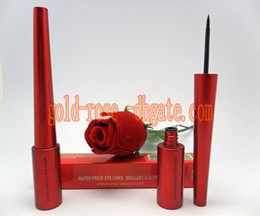 Wholesale Hot red waterproof eyeliner liquide Black ML Refillable Compacts