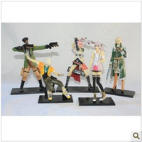 Wholesale Final Fantasy animation model nd generation hand puppet doll ornaments to do a full set of