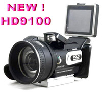 Wholesale Latest HD9100 X ZOOM Remote control telephoto lens Wide angle lensdigital camera MP with