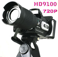 Wholesale High quality HD9100 X ZOOM Remote control telephoto lens Wide angle lensdigital camera MP