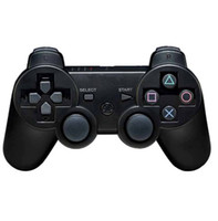 Shock Wireless Controller For PS3 Deal - Wireless Bluetooth Sixs Controller For Sony PS3 Black color