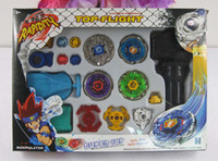 Wholesale Brand New Super Top Metal Beyblade Spinning Tops Toys With Four Beyblade Two Launcher