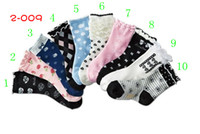 Wholesale Christmas sales promotion Unisex baby s Non slip Socks toddler s Floor stockings Nisses mix colors