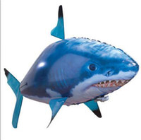 Electric air shark helicopter - new arrival air swimmer rc flying fish radio control rc flying shark clownfish