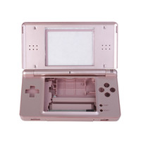 Wholesale 1pcs Full Replacement Housing Case Shell for the NDS Lite NDSL console Metallic Rose