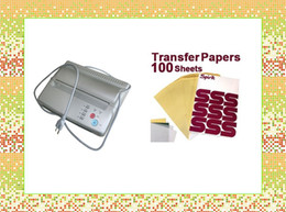 Wholesale 100pcs Tattoo Paper amp Silver Tattoo Thermal Stencil Paper Maker Transfer Copier Printer Machine