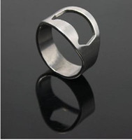 Wholesale STAINLESS STEEL FINGER RING BEER BOTTLE OPENER CAN OPENER TIN OPENER diameter mm mm mm mm
