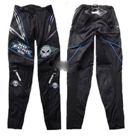 Wholesale Hot Brand New Motorcycle pants Motorcycle racing pants Cross country pants Black and blue