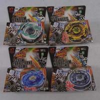 Wholesale 120pcs Styles Clash Metal D Beyblades Spinning Tops Toys bb82 bb99 bb102 bb104