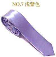 Wholesale skinny tie slim ties men tie necktie cravat retail sale ties cheap ties shirt ties