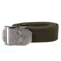 Wholesale Outdoor Sports Recreation CS Military Paintball Red October Canvas Belt