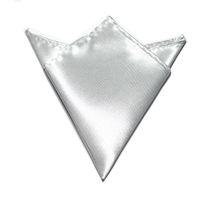 Wholesale silvery Pocket square Hankerchief kerchief mocket mocketer noserag Pocket towel pocket handkerchief