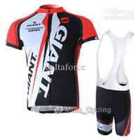Wholesale Cycling Wear Giant Cycling Jersey Shorts Hot Sale set
