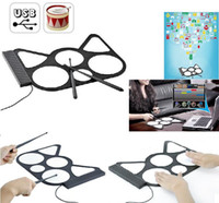 Wholesale Digital USB Roll Up Drum Kit Pad for PC Desktop w DrumStick Cool Gadget